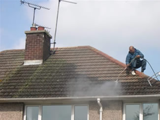 Powerwash Residential Roofs